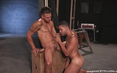 Gay lovers play naughty in scenes be fitting of hot anal fetish