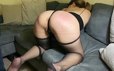 MILF Wife Exploring Flogging