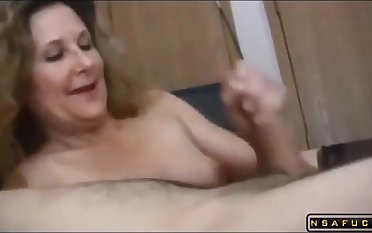 Sultry Lonely Wife Apropos Stockings Gets Fucked