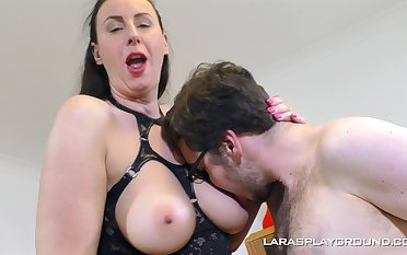 Hardcore gender on chum around with annoy couch with classy woman Lana in fishnet