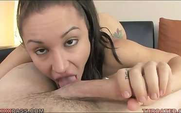 Gabriella Paltrova POV blowjob video