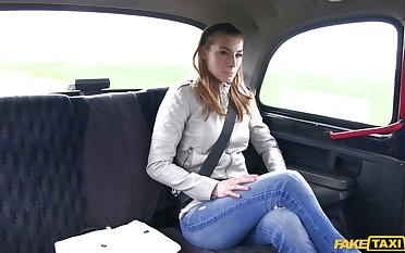 Headman girlfriend Victoria Daniels longed-for to recoil fucked apart from the driver