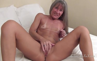 Small titted milf is acquiring banged away from a horny, black bloke who likes her pussy