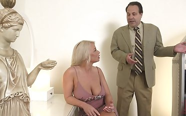 Hot MILF is bored with her sex life and decides to have a go sex with a real stud