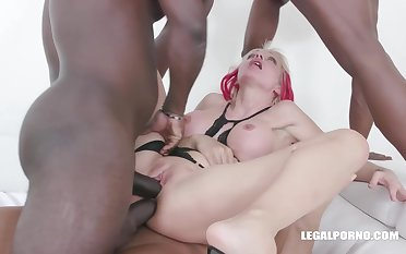 Cindy Sun is not in one's wildest dreams a fucking machine even before acquiring gangbanged by a contrive of black guys