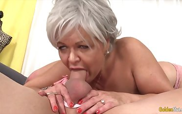GoldenSlut - Older Ladies Show missing Their Cock Sucking Skills Compilation 19