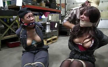 Two Girls Bound BDSM bondage