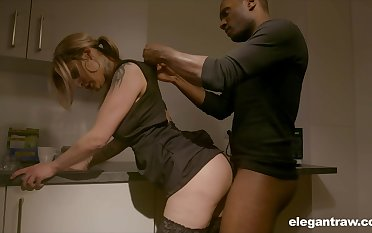 Sexy housewife enjoying her BBC kink while her hubby is on a business trip