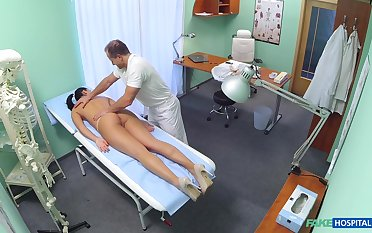 Doctor fucks hot patient and records will not hear of in proximal