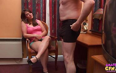 Sasha Blue giving wringing wet head is chum around with annoy drained video you'll ever see