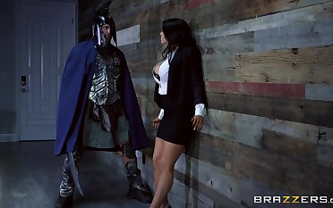 Anal brings superheroine Romi Rain someone's skin most pleasure be useful to all