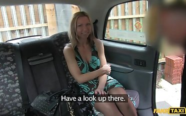 Blonde's Boobs Caught on Camera