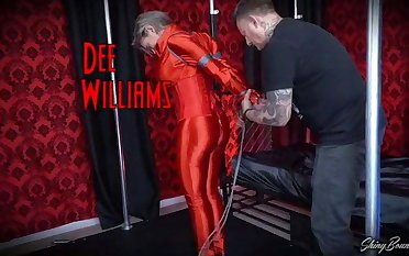 Dee Williams Tight Spandex Bondage